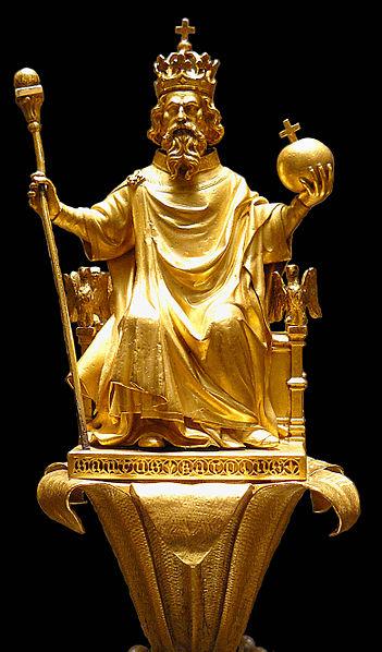 Charlemagne et la civilisation des Carolingienne histoire CM1